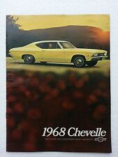 * 68 Chevelle NOS  Dealer Brochure *