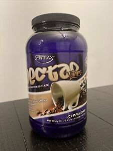 Syntrax - Nectar Lattes Whey Protein Isolate Powder Cappuccino - 32 oz.