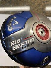 New listing Callaway Big Bertha Alpha Driver