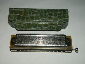 Vintage M. Hohner Super Chromonica, (Hormonica), Nice Condition!