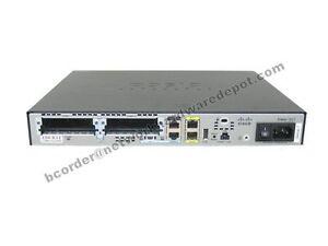 Cisco 1921 Gigabit Ethernet Router CISCO1921/K9 - 1 Year Warranty