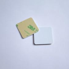 10 30x30mm Anti-Metal White Hard Pvc Nfc Tag Ntag213 Samsung Sony Lg Android