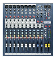 SOUNDCRAFT EPM8 - 8-CHANNEL HIGH PERFORMANCE MIXER - Authorized Dealer