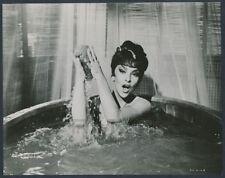 "1959 Gina Lollobrigida, ""Naked in the Bath Tub"" Seductive Vintage Photo"