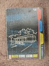 1963 / 1964 Master Service Station Guide References cars from 1954 to 1963