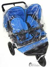 Raincover Compatible With Out N About Nipper Double Twin Pushchair (213)