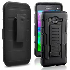 Armor Impact Heavy Duty Rugged Hybrid Hard Case Belt Clip Stand Cover For Phones