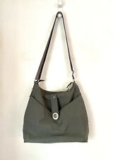 BAGGALLINI HELSINKI Silver Hobo/ Shoulder Bag Gray Crossbody