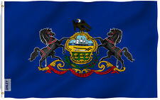 Anley  Fly Breeze  3x5 Foot Pennsylvania State Flag,Vivid Color