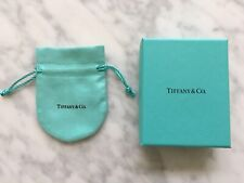 New Tiffany & Co. Blue Box + Drawstring Pouch For Ring Other Jewelry Authentic