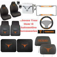 NCAA Texas Longhorns Choose Your Gear Auto Accessories Official Licensed
