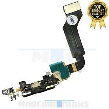 iPhone 4S schwarz Ladebuchse Anschluss Dock Connector Microfon Flexkabel OEM054