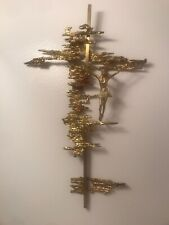 "Salvador Dali's Christ Crucifixion 26"" x 17"""