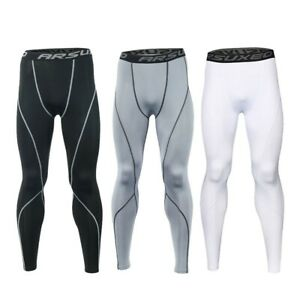 Men Cycling Tights Running Sporting Supply Wicking Breathable Leggings