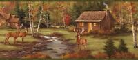 Deer Creek Lodge Chesapeake Easy Walls Wallpaper Border LL50051B / BBC50051B