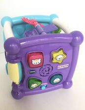Cube Purple Online Kids Learning VTech Baby Learners Toy Song Play Activity