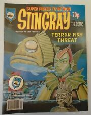 STINGRAY The comic no 3 1992  W A S P. with wasp badge & NIKKO POSTER
