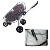 Golf Regenschutz Regencover mit Reißverschluss für Golftrolley Golfbag, 130 x