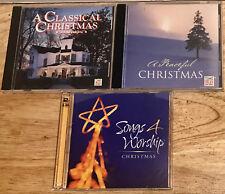 TIME LIFE MUSIC 4 cd Christmas: A Peaceful/A Classical/Songs 4 Worship NICE