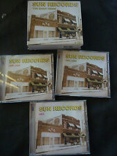 SUN RECORDS THE EARLY YEARS ULTRA RARE 3 CD SET BOXSET! PRISONAIRES ELVIS