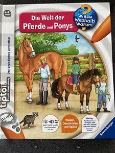 Tiptoi Die Welt der Pferde und Ponys Neuwertig Weihnachtsgeschenk?