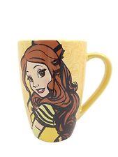 Disney Parks Beauty & The Beast Princess Belle Ceramic Coffee Mug NEW