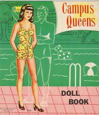 Vntg 1940 Campus Queens Paper Doll Uncut Hd Lasr Reproduction No.1 Ebay Selr Lop
