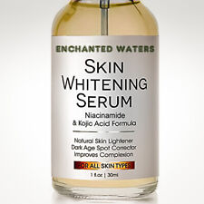 Skin Whitening Lightening Brightening Serum Kojic Acid Dark Spot Bleaching Cream
