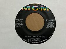 "The Cowsills In Need Of a Friend / Mister Flynn 7"" 45 rpm MGM VG+"