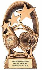 New! Baseball Softball Little League Trophy Resin Award Free Lettering Mrf1520A