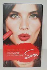 Victoria's Secret Sara`s Lip Kit Velvet Matte Desire lip Pensil Ruby Red Satin