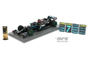 Mercedes AMG F1 W11 Lewis Hamilton Formel 1 Türkei 2020 1:43 Spark 6488 NEU