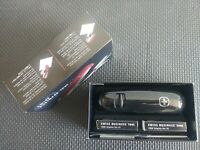 RARE WENGER SWISS BUSINESS TOOL NO. 60 Black with 2000 Staples. Swiss Army Knife