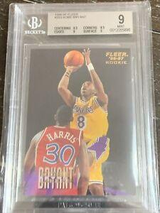 1996 Fleer Kobe Bryant ROOKIE RC #203 BGS 9 MINT
