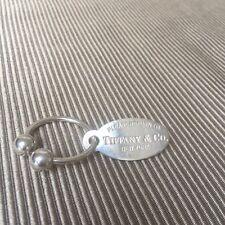 Tiffany Silver Keyring