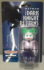 MEDICOM  2001 NYCC BEARBRICK BATMAN THE DARK KNIGHT RETURNS THE JOKER FIGURE