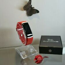 reloj de deporte inteligente Smartwatch sumergible rojo running spinning padel