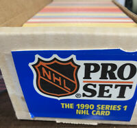 1990-91 Pro Set Series 1 complete Set Hockey Cards (Proset) 1-405 New