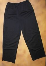 "NWOT WolffFording  BLACK PANTS inseam 19"" straightleg Dance costume item sz 6x-7"
