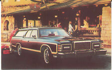 Ford LTD Country Squire 1978 original Postcard