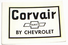 Vintage 1960s Auto / Car Decal Chevy Corvair Parts Chevrolet