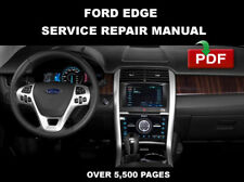 FORD EDGE SE SEL LIMITED 2012 2013 2014 FACTORY SERVICE REPAIR WORKSHOP MANUAL