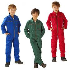 Junior Work Overall Workwear Rallye Suit Work Trousers Overall Children NEW
