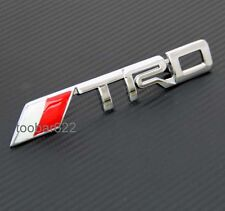 3D Metal Front Grille Grill Badge Chrome Emblem DECAL tuning Trd SPORT tG33