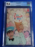 CGC Comic graded 9.6 Ice Cream Man #1 1st print  Key issue HOT