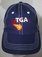 TGA Embroidered Strapback Blue Cap Texas Golf Association Keep Swinging!