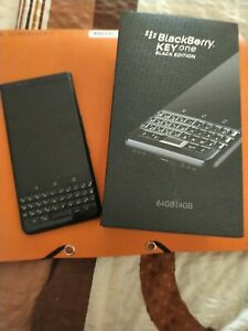Smartphone BlackBerry KEYone - 64 Go - black edition