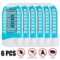 Loskii  Electric Mosquito Killer Fly Bug Plug In Insect Trap Zapper w/