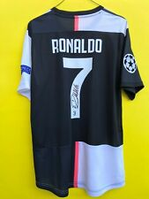 CRISTIANO RONALDO jersey JUVENTUS signed autograph COA numb 7 football soccer