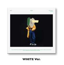 Shinee Key[Face]1st Solo Album White CD+Book+Kpop Poster+Gift+Tracking